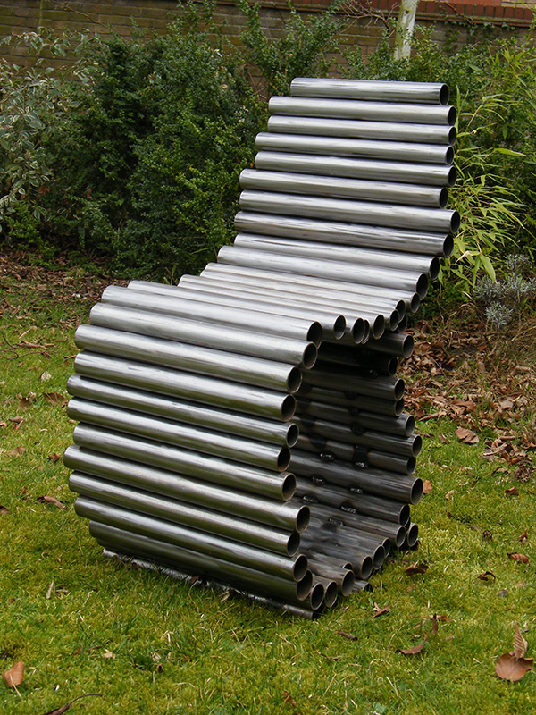 B-Chair - created from welded steel tubes
