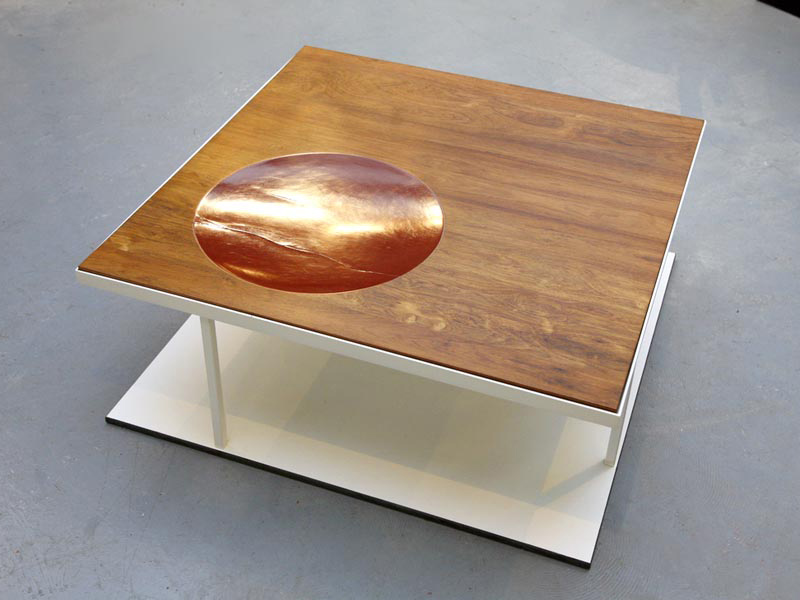 Recycled Contemporary Table by Loukas Morley and Ashley Baldwin-Smith