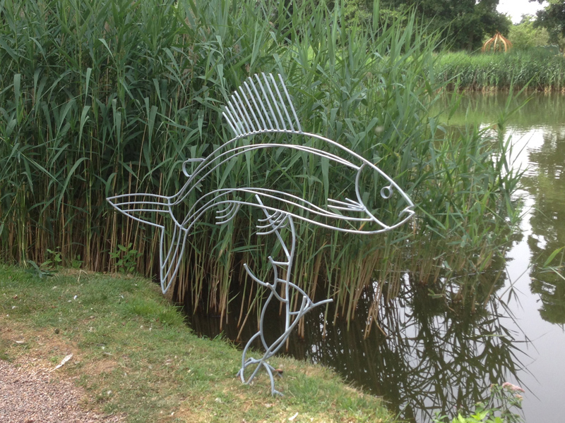 Grayling sculpture