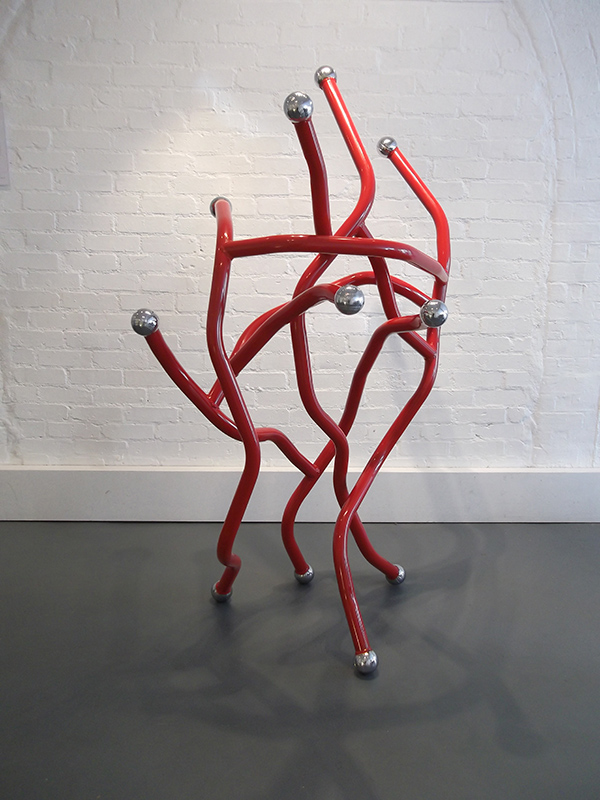 Red Dance exhibited at Williams Art, Cambridge