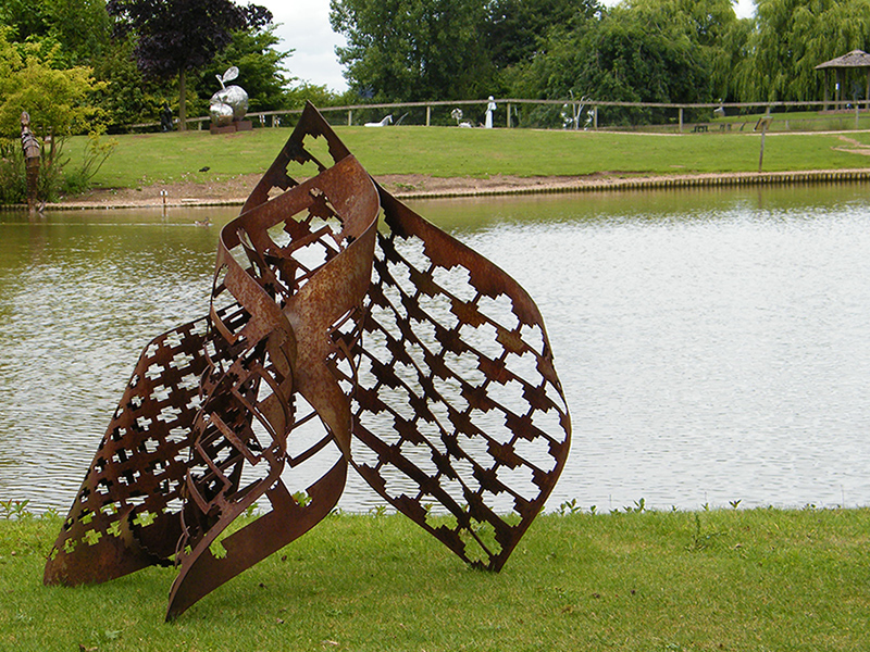 Welded metal sculpture