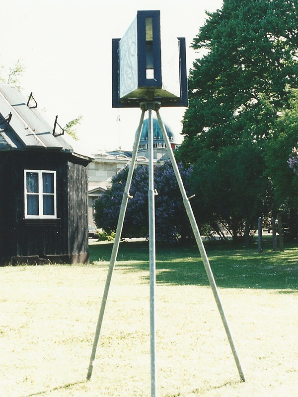 Quantum Tripod - at the Institute of Astronomy, Cambridge